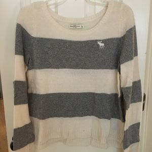 Abercrombie & Fitch sparkly striped sweater